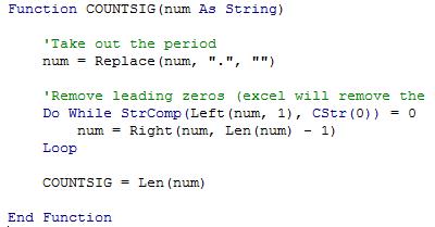 Custom Function Header