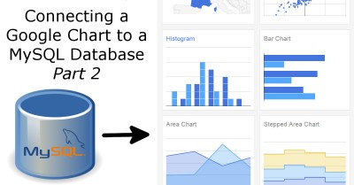 Connecting a Google Chart to a MySQL database Part 2