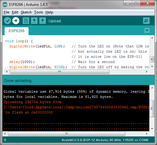 Flashing-custom-firmware-to-the-ESP8266-with-Arduino-IDE